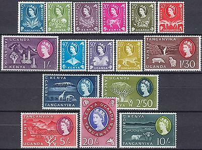 KUT 1960 issue, SG 183 - 198, Mint Hinged, Cat £65