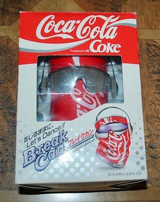 Coca Cola Coke Break Can - Dancing Can - Rare Japenese Version 1991