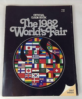 1982 Worlds Fair Guide Book Knoxville Tennessee