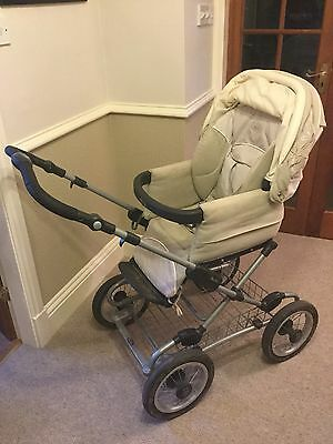 Silver Cross Classic Sleepover Black Standard Single Seat Stroller