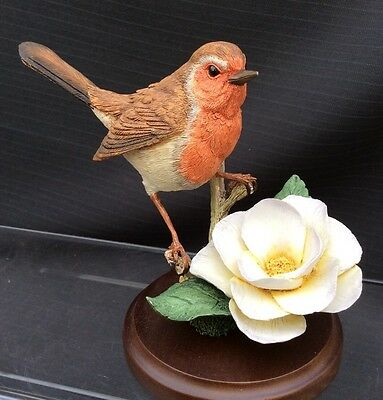 Country Artists- Robin With Camellia