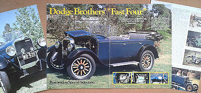 Dodge Fast 4 series 128 from 1927