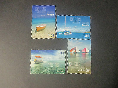 2011     Cocos   Island  Stamps   Issues  ---4 Stamps   --F/s  Used