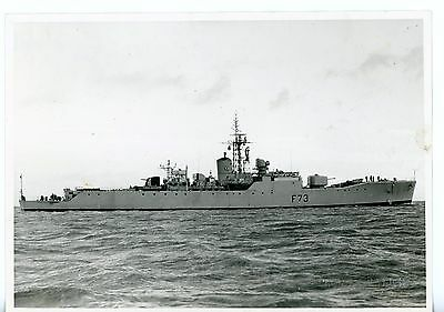 Royal Navy, Original Photo, HMS Eastbourne, Frigate F73, Official Photo, 1958