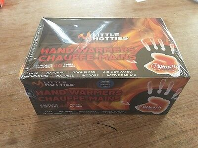 Little Hotties Box Of 40 Pairs Hand Warmers, 8 Hrs