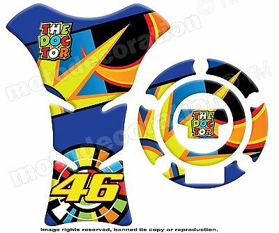 THE DOCTOR ROSSI 46 MotoGP to YAMAHA KIT5 PROTECTION RESERVOIR Et CACHE GAS