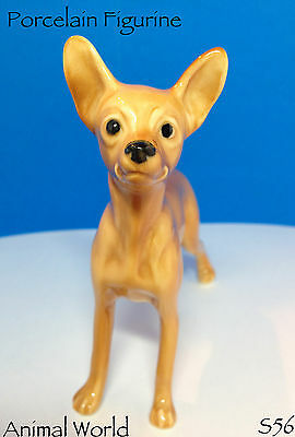 Miniature Pinscher porcelain dog figurines Toy Terrier Made in Russia