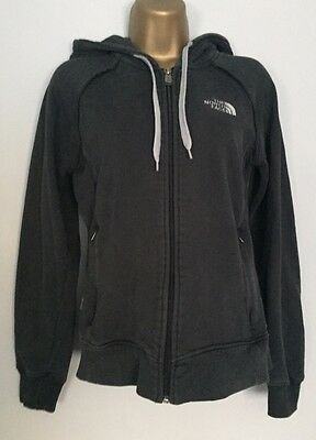 Ladies Navy Blue The North Face Hoodie, Size L/G