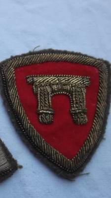 WWII ITALIAN ARMY BADGE FOR HAT infantry  REGIMENT