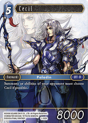 Cecil  -  1-162R RARE - NM - Final Fantasy TCG - OPUS 1