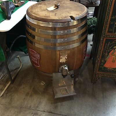 Vintage Rochester Fountain Root Beer Wood Barrel