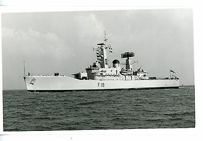 Royal Navy, Original Photo, HMS Galatea, Frigate F18,  Wright & Logan, 1970