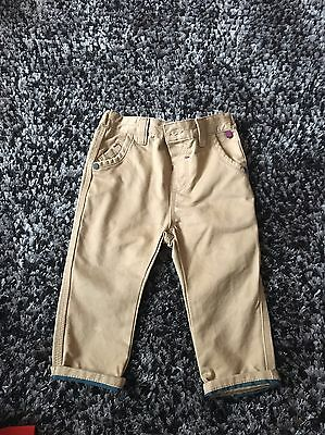 Ted Baker Baby Boy 9-12 Month Chino Trouser Jeans