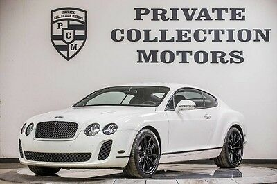 2010 Bentley Continental GT Supersports Coupe 2-Door 2010 Bentley Continental Gt Supersports Pristine Low Miles Clean Carfax