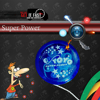 New Light Up YoYo Yo Clutch Mechanism Fun Toy Speed Ball High Assorted Colours