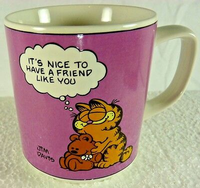 Vintage Garfield Coffee Mug. Officially Licensed