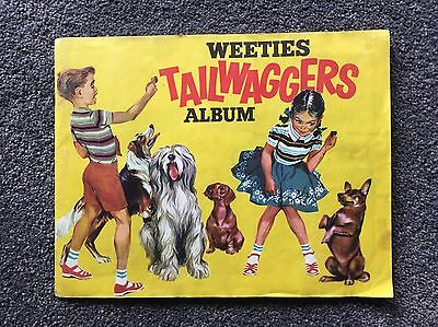 Weeties Tailwaggers  Dogs Album and Cards 1960