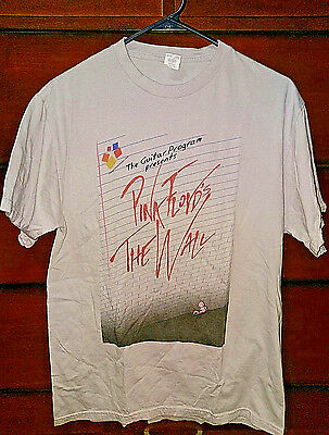 Pink Floyd The Wall Shirt Is There Anybody Out There ? Gray size Medium