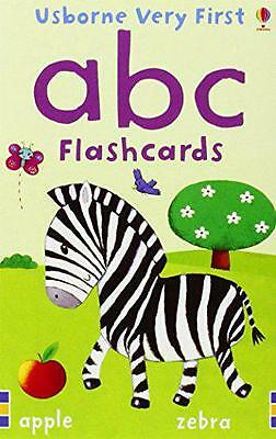 ABC (Baby's Very First Flashcards), Felicity Brooks | Hardcover Book | 978140953