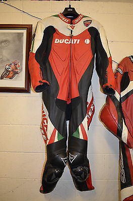 Dainese Ducati One Piece Leathers Size 54