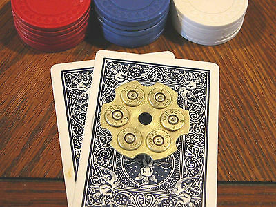 Classic 38 Special Revolver Poker Card Protector / Poker Hand Guard