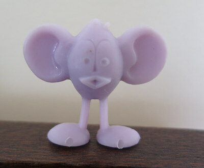 Kellogg's R&L Cereal Toy Lilac Curly Crater Critter 1960s