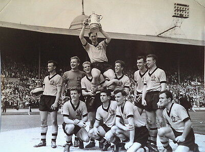 Wolverhampton Wanderers Win The 1960 F.a Cup Photograph