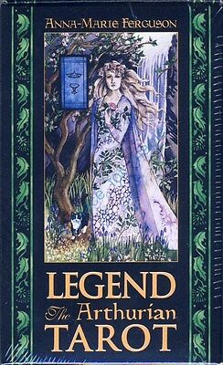 NEW Legend The Arthurian Tarot Deck Cards Anna-Marie Ferguson