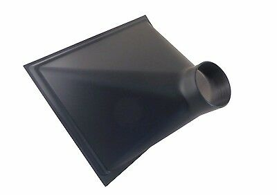 """Gigantic Dust Collector Dust Hood 13"""" x 16"""" x 10""""  with 4"""" OD Opening 73464"""