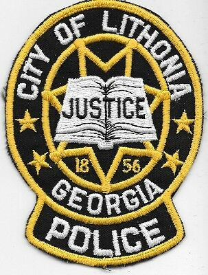 Lithonia Georgia Ga Police Justice Lpd Pd Local State County Book Of Justice