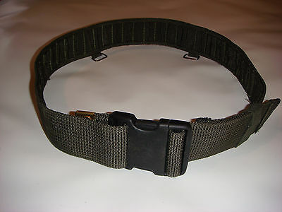British Army - Green PLC Belt - Adjustable / Wide / Load Bearing / Military