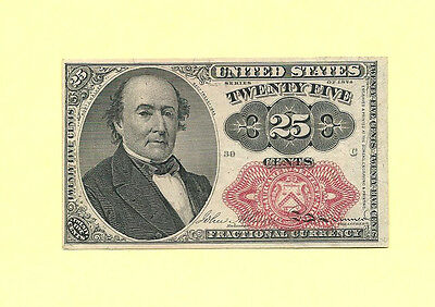 FR 1308 - Twenty Five Cents 5th Issue Fractional Currency Sharp Uncirculated
