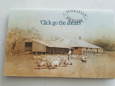 Stamp/FDC - Click go the Shears