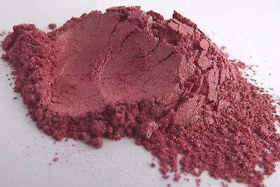Pink Plum Mica Red Natural Cosmetic Grade for Home Makeup Soap Skincare Craft