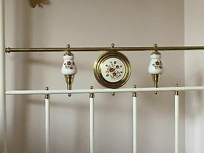 Antique single four poster canopy bed in good condition suit child or teenager