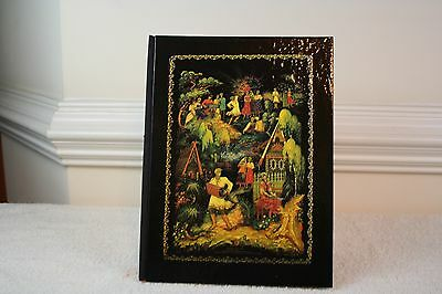 Palekh Russian Laquer Painted Miniatures Hc 1984