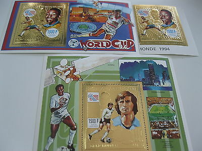 Central Africa-1993-sport,soccer world cup94-MI.1526.BL.555,556