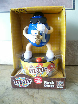 M&M BLUE as Rock Star playing a Saxophone - Very Cool! - New In Package