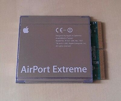 Apple AirPort Extreme card for older Macs.