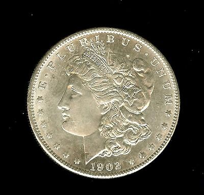 1902-O MORGAN SILVER DOLLAR GEM+ UNCIRCULATED DMPL  @@ rare  @@
