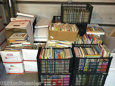 1000 Unchecked CHILDRENS KID'S MIXED BOOK LOT Just $.35 ea. with Free Pick-Up