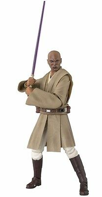 S.H.Figuarts Star Wars Episode 1 MACE WINDU Action Figure BANDAI NEW from Japan