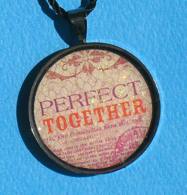 Perfect Together - Glazed Pendant Necklace