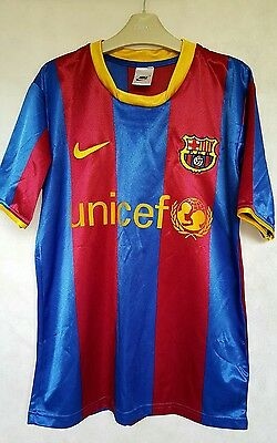 barcelona shirt 13-14 years