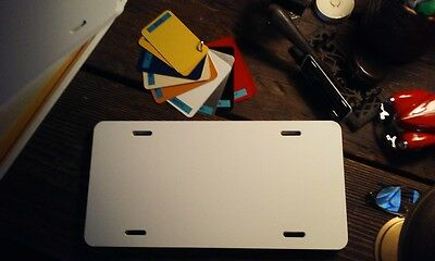 Aluminum Auto License Plate Blanks for Air Brush and Silk Screen Printing 20PCs