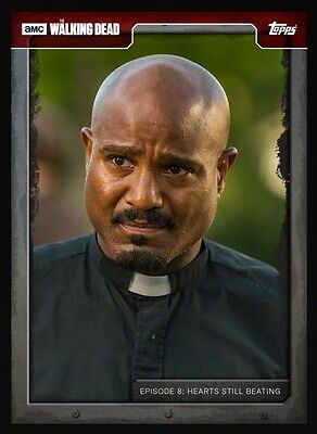 TOPPS WALKING DEAD CARD TRADER 708 Red Gabriel Stokes