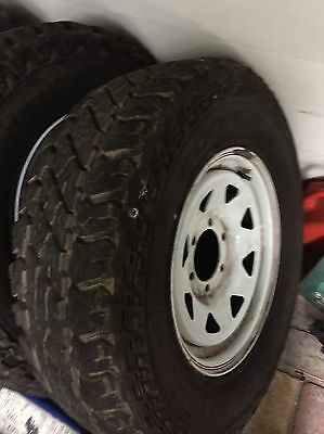 4wd tyres and wheels - Cooper Discovery S/T Maxx