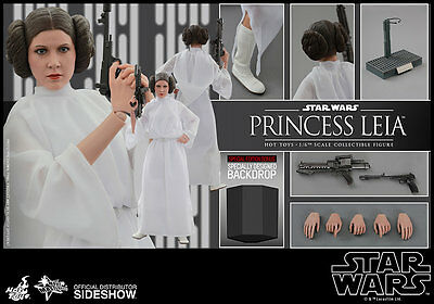 Hot Toys Star Wars 1/6 - Prinzessin Leia - Epsisode IV - HT Exclusive