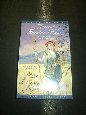 Ancient Feminine Wisdom Of Goddesses And Heroines Oracle Cards Deck - New In Box