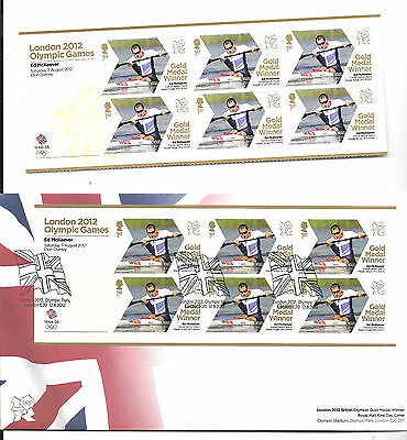 2012 X 2 ED McKEEVER FDC & UNMOUNTED MINT MINI SHEET VERY FINE